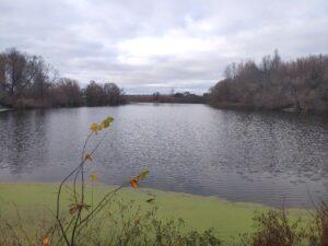 Озеро в Остроглядово