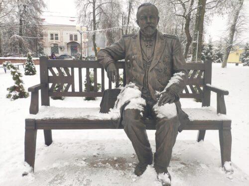 Памятник Ивану Григорьевичу Щегловитову Стародуб