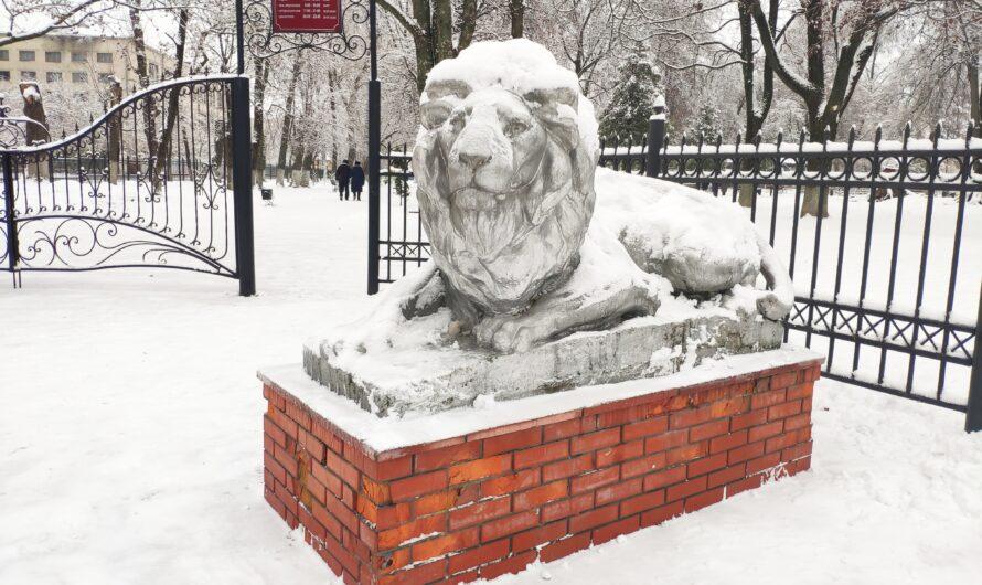 Скульптуры «Львы». Стародуб.