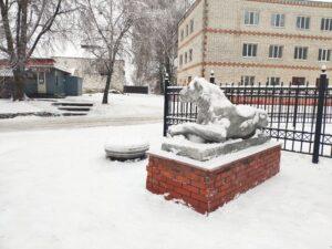 скульптура Львицы Стародуб