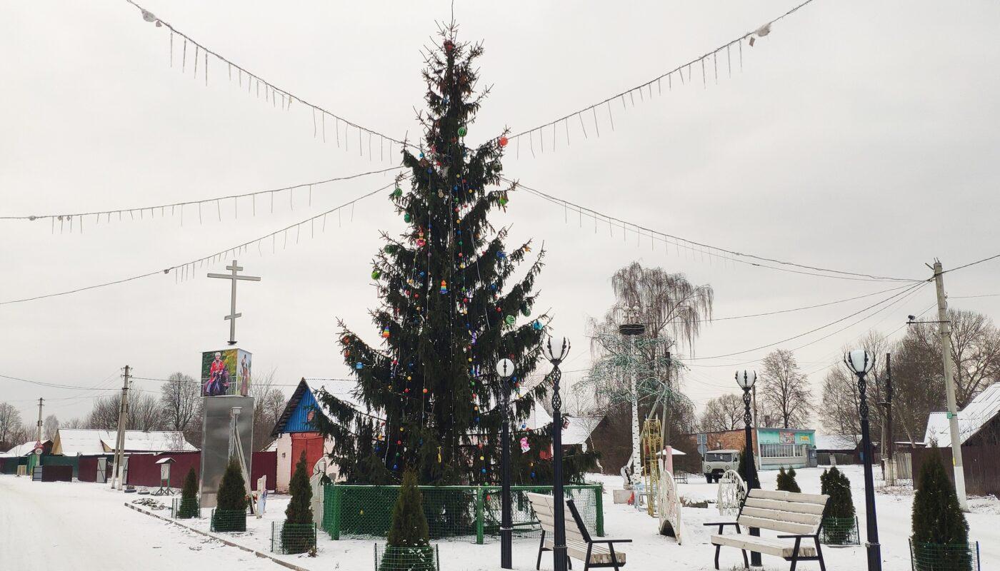 елка Лопатни новый год