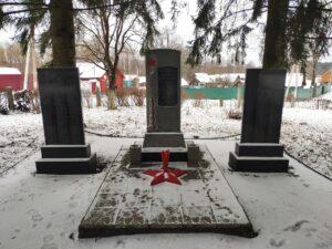 Мемориал воинам-односельчанам. Лопатни.