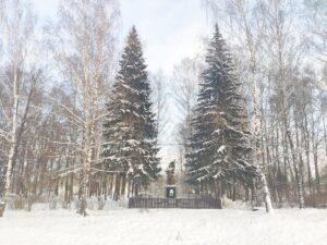 могила 19 советских солдат Новый Дроков