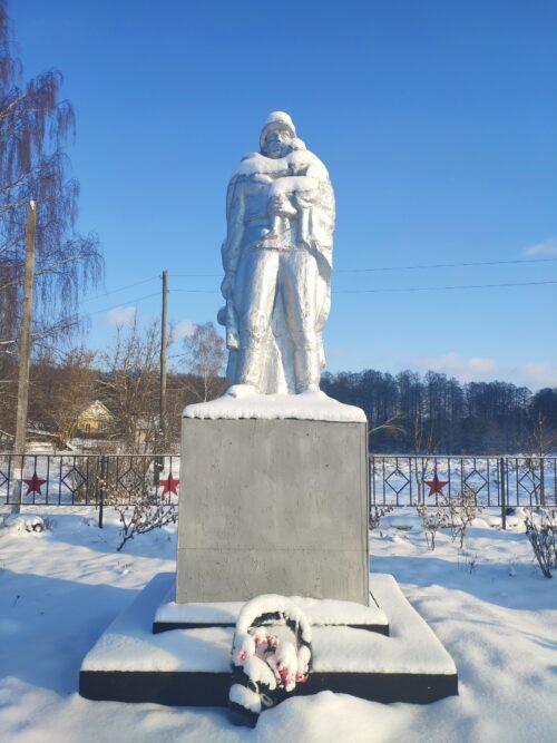 Овчинец Суражский район мемориал вов Братская могила