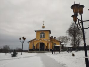 Церковь Николая Чудотворца. Лопатни