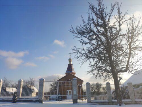 Суражский район церковь Михаила Архангела поселок Иванов