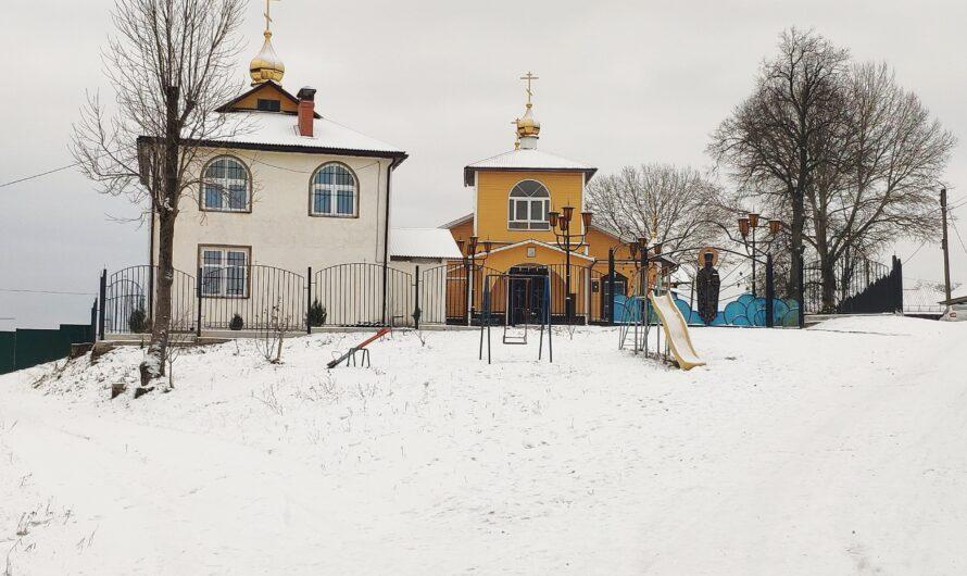 Церковь Святителя Николая. Лопатни.
