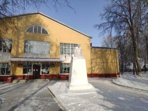 Бюст Ленина Замишево Новозыбковский район