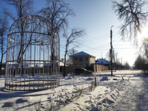 Клетка Бёме Новозыбков Арт объект