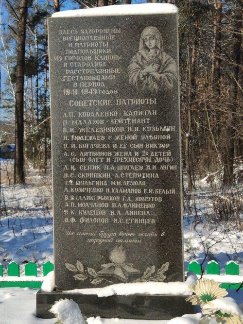 Братская могила поселок Вьюнки