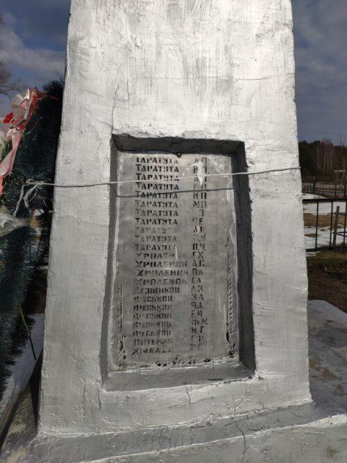 Мемориал Коробоничи