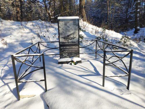 Братская могила неизвестных летчиков