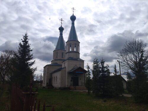 Покровская церковь. Коржовка-Голубовка.