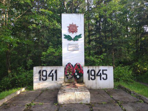 Рожны мемориал ВОВ
