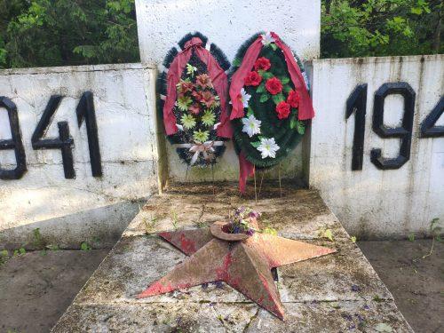 Рожны Клинцовский Район памятник павшим односельчанам
