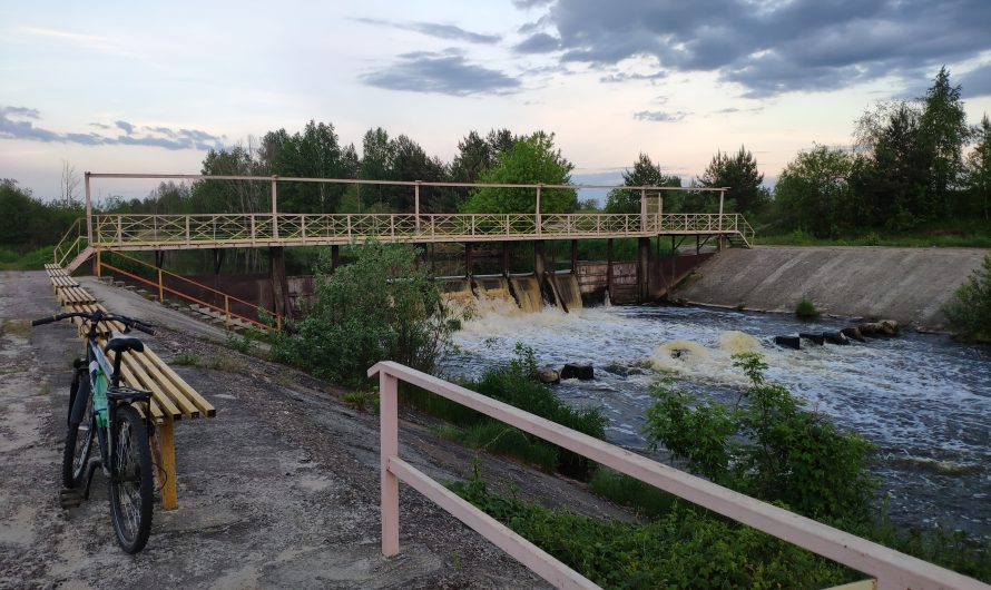 Водопад в Клинцовском районе. Затишье.
