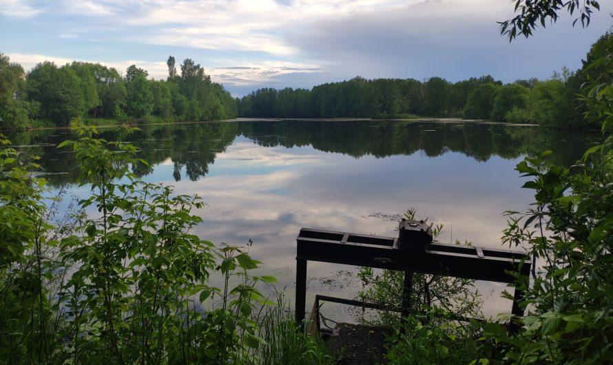 Озеро на реке Козка. Кулаги.