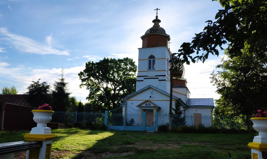 Церковь Николая Чудотворца. Ардонь.