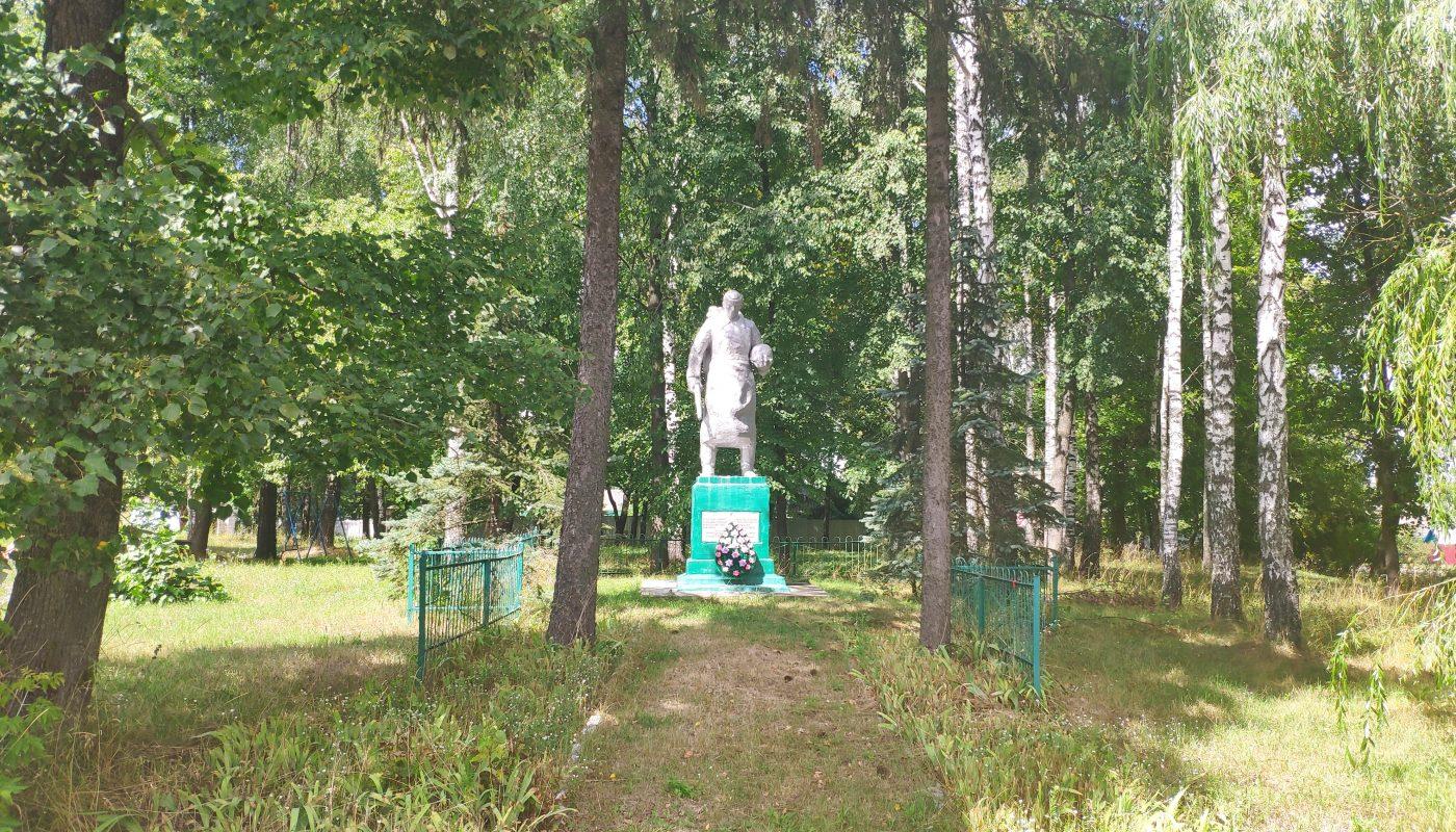 мемориал воинам-землякам Елионка