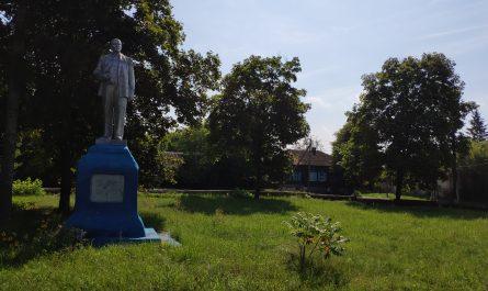 Памятник ленину село Воронок Стародубский Район Брянской Области