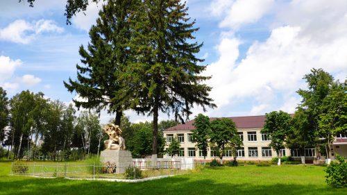 Мемориал ВОВ Понуровка Школа Могила неизвестного Солдата