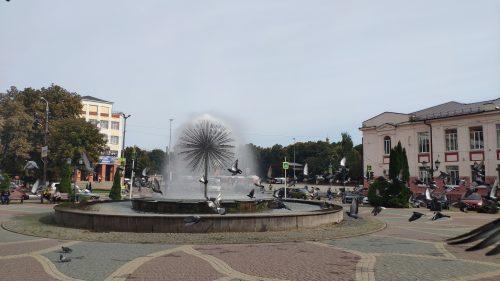 Площадь любви Клинцы Фонтан