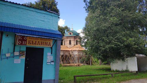 Солова. Церковь Михаила Архангела.
