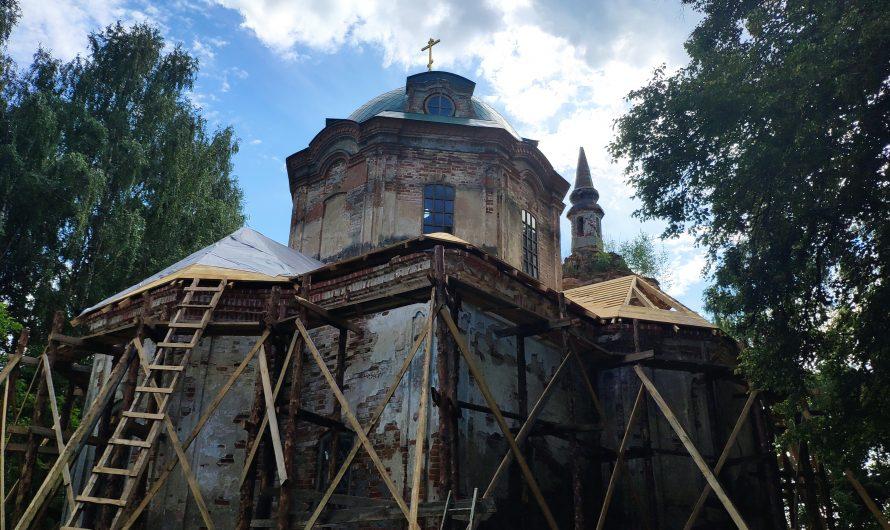 Храм Михаила Архангела. Солова.